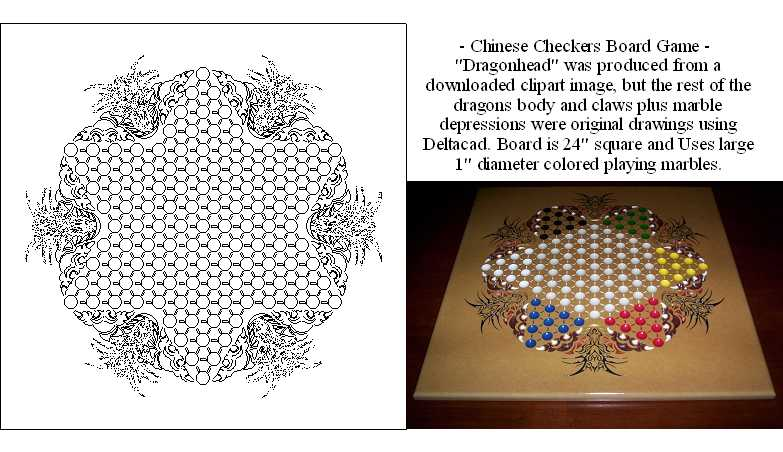 Chinese Checkers Board Template   Member Submitted Drawings Page 1